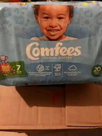 Brand New Comfees Diapers  Brownsville, 78521