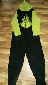 Full body hooded Grinch pajamas or costume South Bend, 46628