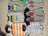 Lot of rompers for boy 12 months  Laval, H7G 0G1