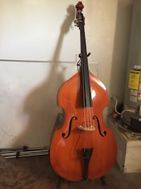 Upright bass (contrabajo) comes with case stand and bow  Las Vegas, 89108
