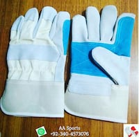 Grain Palm Leather Gloves, welding, palm, safety, latex, plastic, rubber, PVC, fingerless