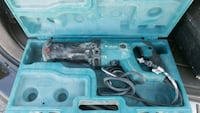 blue and black Makita corded power tool Hackensack, 07601