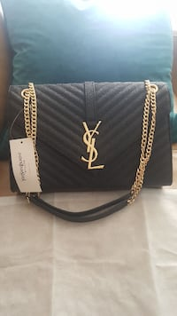 Shiny New YSL Messenger Bag