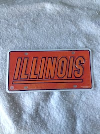 University of Illinois License Plate Ormond Beach, 32174