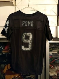 Romo Womens Black Jersey #9 Lexington Park, 20653