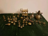 Lot of vintage brass miniatures, 43 pieces Calgary, T2E 6S7