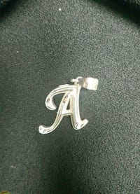 "Sterling Silver Letter ""A"" Charm 229 mi"