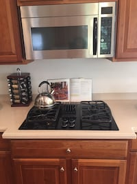 GE Profile cooktop for sale (used)