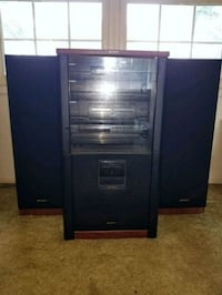 Sony home stereo and speakers Springfield