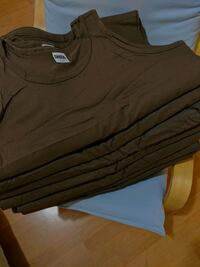 WHOLESALE X-Large 100% Cotton Tanks, dark brown Los Angeles, 90031