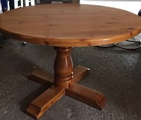 Solid wood table make offer  Mississauga, L5C 1M5