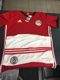 2018 WorldCup Egypt jersey+shorts  Laval, H7X 1E2