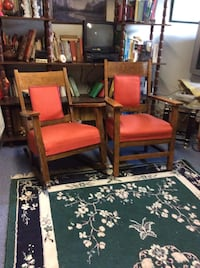2 very old chairs 1 is a Rocking chair.  150.$ Sainte-Sophie, J5J 1C6