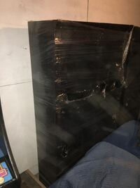 Black and gray wooden cabinet Kansas City, 64118
