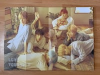 BTS Love Yourself Poster