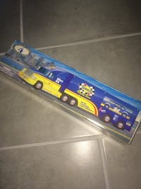 Vintage 97 Sunoco truck with race car. New in box