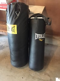 black Everlast leather heavy bag Manassas, 20112