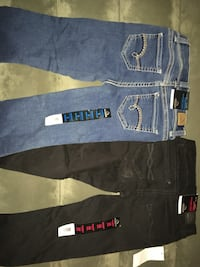 blue denim jeans and black pants Fort Myers, 33901