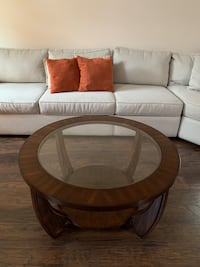 Glass-top Coffee Table