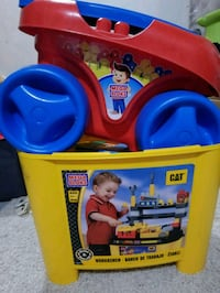 Toddler mega blocks and wagon Sherwood Park, T8H