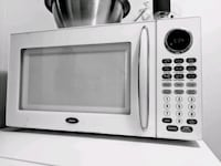 white and black microwave oven Arlington, 22209
