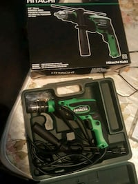 green and black Hitachi cordless power drill Oshawa, L1J