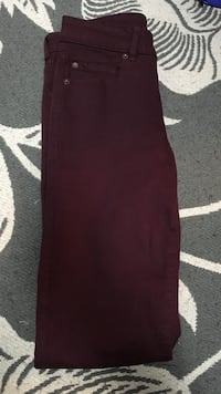 women's maroon pants Oakville, L6L