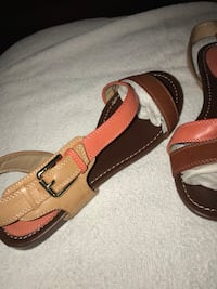 pair of brown leather sandals Newport News, 23607