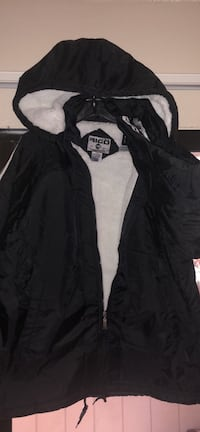 black and gray zip-up jacket Fresno, 93710