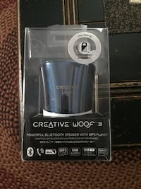 Creative Woof 3 Bluetooth Speaker with MP3 Player Erlanger, 41018