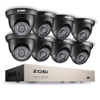 8-Channel HD Security Video DVR Recorder + 8 HD/IR Cameras MONTREAL