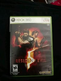 Xbox 360 Resident Evil 5 game Conneaut, 44030