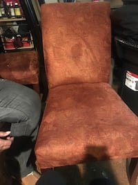 Two chairs that's are brown with patterns  Nashville, 37209
