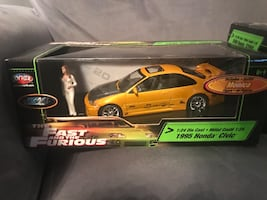 1:24 diecast fast and furious never been opened