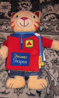 Plush shapes kitty book by soft play Norridge, 60706