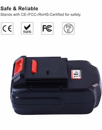 PC18B replacement battery for Porter Cable 18v 3.6Ah Ni-MH Fairburn, 30213