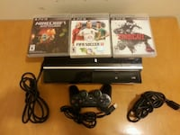 black Sony PS3 game console Abbotsford, V2T 4G4