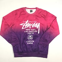 Stussy mens 2XL long sleeve nylon shirt A2 Winnipeg, R2V 2T6