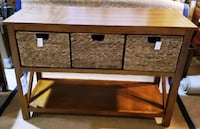 SONOMA, Cameron Console Table, Brand New , Side table and Rug Halton Hills