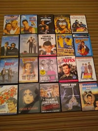 Dvd's $2.50 each - Comedy