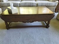 Set of 3 Solid Wood Tables  Easton