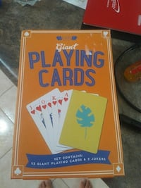 Giant playing cards. Oakville, L6M 0R2