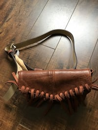 Brand new Brown leather belt  bag