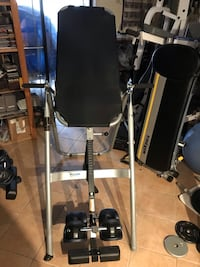 Black and gray inversion board  equipment Sterling, 20165