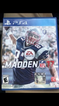 Madden NFL 17 PS4 game case Costa Mesa, 92627