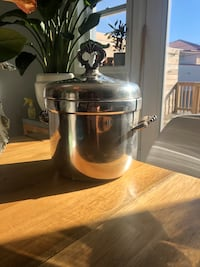 Silver plated ice bucket - vintage