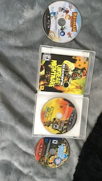 PS3 Grand Theft Auto Five game disc