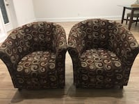 Pair of Arm chairs Toronto, M2M 0A5