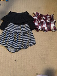 3 cute skirts and a good price  Edmonton, T6T 2A5