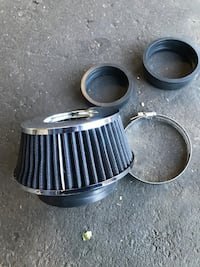 Aftermarket Chrome Air Filter